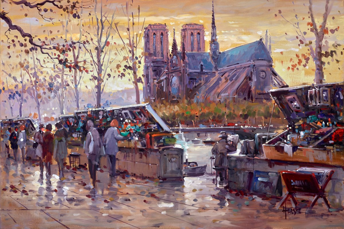 Notre Dame, Paris, France II by henderson cisz -  sized 30x20 inches. Available from Whitewall Galleries